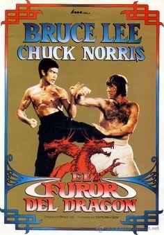 Acción , Artes marciales, 1972, El furor del dragón