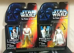 "Star Wars Action Figure 2 pack (POTF) - Luke and Leia ""Unknown Siblings"" #Kenner"