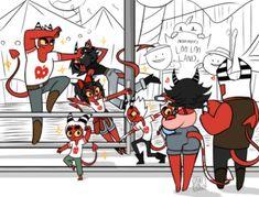 Boss Series, Vivziepop Hazbin Hotel, Anime Nerd, Angel Dust, Beautiful Fantasy Art, Fan Art, Animal Sketches, Cute Anime Couples, Illustrations