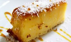 Portugiesisches Schnell & Einfach Pudding Rezept easy 3 ingredients easy for a crowd easy healthy easy party easy quick easy simple Lemon Pudding Recipes, Cake Recipes, Snack Recipes, Dessert Recipes, Portuguese Desserts, Portuguese Recipes, Portuguese Food, Quick Puddings, Strawberry Roll Cake