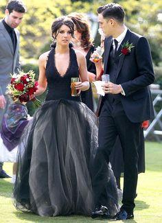 18 Beautiful Black Wedding Dresses via Brit   Co