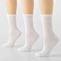 Tek Gear® 3-pk. Women's Modal Blend Crew Socks (White) Tek Gear®. $14.95