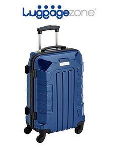 ¡Chollo! Maleta de cabina rígida Luggagezone LZ8166 de Policarbonato 36 Litros por 47,34 euros.