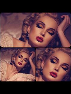 The perfect red lip.