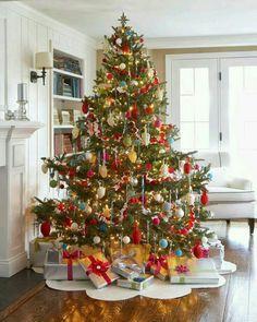 Skønt juletræ!