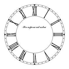 Printable Clock Templates  HttpImgImageshackUsImg
