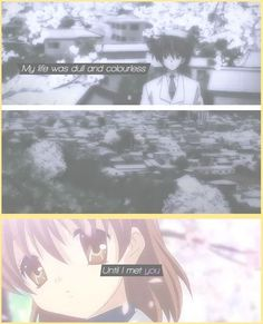 this sums up the feels of clannad. aghhh so sad!