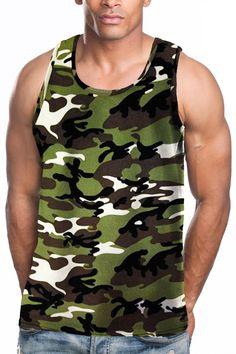 2ac04427cc8 Tank Top. Camo Tank TopsTank Top ShirtT ShirtMens ...