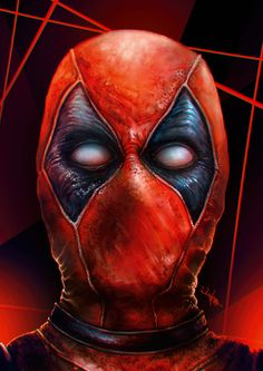 Deadpool Portrtait - Eugene Gore
