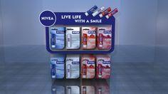 Nivea Lip Care Counter Top & Shelf Ear Design on Behance