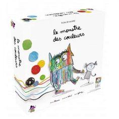 Le Monstre des Couleurs - La couleur des émotions - Idées cadeaux jeux de société - Idées cadeaux jeux et jouets - Idées Cadeaux Enfants Noël - Préparer Noël