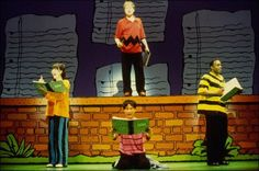 Image result for sets for you're a good man charlie brown