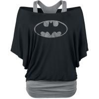 Logo - Girls longsleeve by Batman - Article Number: 296231 - from 43.99 € - EMP Merchandising ::: The Heavy Metal Mailorder ::: Merchandise Shirts and More