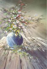 PBS Artist Jerry Yarnell 'Wild Flowers' Instructional dvd in acrylics