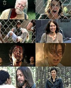 Maggie, the character who's been through the most
