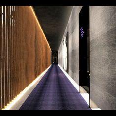 Art Hotel Corridor Design NY Interior Designer Jared Epps Jaredshermanepps.com