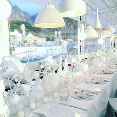 White Table | White Table Setting | White on White | Something Different