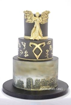 The Infernal Devices Cake
