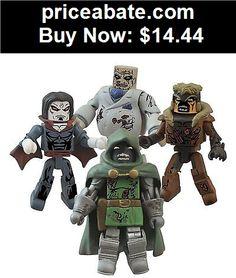 Collectibles: Marvel comics ZOMBIES Minimates Villains ser2 4 Figure Boxed Set - BUY IT NOW ONLY $14.44