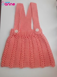 Salopet elbise nasıl örülür Crochet Baby, Free Crochet, Knit Crochet, Knitting Patterns, Crochet Patterns, Great Videos, The Dress, Knit Dress, Beautiful Dresses