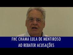 FHC chama Lula de mentiroso ao rebater acusações