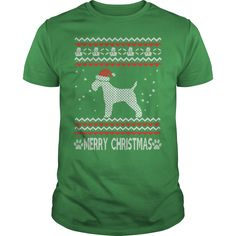 Merry Christmas Dogs wire fox terrier