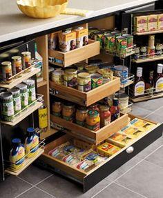 Yes please! Kitchen Storage Ideas
