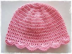 Crochet Cap, Crochet Bebe, Crochet Baby Hats, Free Crochet, Knitting For Kids, Sewing For Kids, Sewing Patterns, Crochet Patterns, Bridal Hair Buns