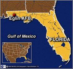 Eglin Air Force Base Valparaiso, Florida 1956 Eglin Air Force Base, Air Force Bases, Gulf Of Mexico, Fire Trucks, Places To Travel, Real Estate, Military, Memories