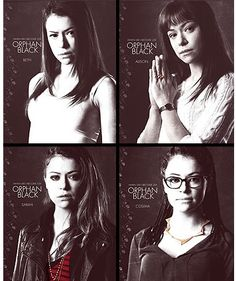 The same actress has played seven different characters on the same show. Each character is completely different. Tatiana Maslany is a truly amazing actress.