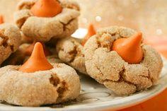 Easy Pumpkin Cheese Ball   pumpkin spice kiss cookies pumpkin hershey kisses do exist i