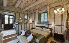 Lupaia | Agriturismo Montepulciano Toscana | Zimmer & Suiten | Hotel Airbnb, Toscana, Modern, Curtains, Home Decor, Italia, Old Stone Houses, Restore, Voyage
