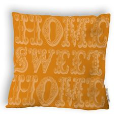 Home Pillow Orange design inspiration on Fab.