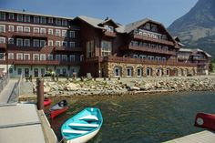 Visit all the National Parks and stay at their cool lodges - Glacier National Park Lodge