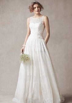 Melissa Sweet for David's Bridal Melissa Sweet for David's Bridal Style MS251073 Wedding Dress - The Knot