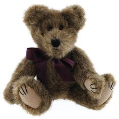 Boyds Bears Plush YORK 5705105 PURPLE Archive Bear