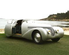 1938 Hispano-Suiza H6C Saoutchik Coupé