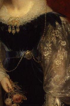 William Beechey, Adelaide Amelia Louisa Theresa Caroline of Saxe-Coburg Meiningen Queen to William IV 1831 detail Renaissance Paintings, Renaissance Art, Gothic Aesthetic, Aesthetic Art, Moda Retro, Princess Aesthetic, Victorian Art, Classical Art, Detail Art