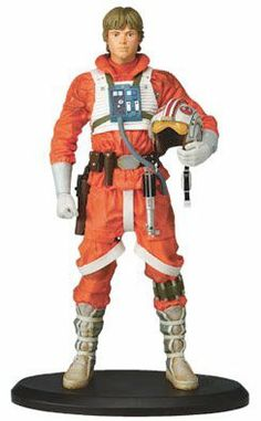 Star Wars LUKE SKYWALKER as X-WING PILOT STATUE by ATTAKUS by Attakus. $209.99. Limited edition to only 1500 worldwide. beautiful pose of classic Luke X-Wing. Cold cast resin statue stands around 15 inches tall. Attakus French exclusive statue cast in resin. Ltd to only 1500 worldwide this is number 1330/1500.  The box is in great condition. The statue is MINT and perfect.  A very rare piece.  NO INTERNATIONAL SHIPPING.