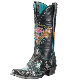 Women's Sapphire Soule Boot - Wild Black - Rock'n Roll Sass with Cowgirl Class
