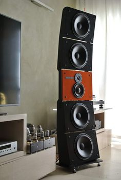 Open Baffle Speakers, Hi End, Loudspeaker, Audio, Home Appliances, Pure Products, Box, House Appliances, Music Speakers