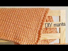 Colcha o Manta de bebé a crochet paso a paso - YouTube