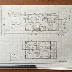 石川 元洋さんはInstagramを利用しています:「100m2で5人家族の家。駅前の防火地域で両側の隣家が迫っている土地、床面積は100m2まで。限られた条件で最高の提案を目指して😊…」