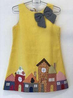 Baby Frocks Designs, Kids Frocks Design, Kids Dress Wear, Little Girl Dresses, Baby Dresses, Pageant Dresses, Bridesmaid Dresses, Baby Girl Dress Design, Baby Girl Dress Patterns