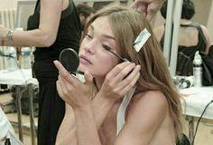 We Heart It, Models Backstage, Natalia Vodianova, Serena Van Der Woodsen, New Energy, Oui Oui, Forever, Rich Girl, Outfits