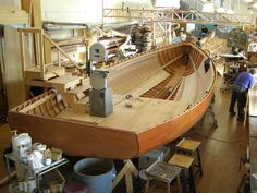"""Building the Catboat """"Silent Maid"""""""