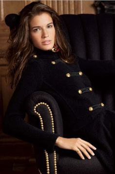 Black velvet Ralph Lauren jacket.