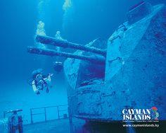 Cayman Brac diving the Russian frigate, done it :D