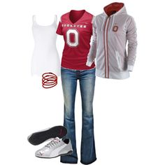 PERFECT GAME DAY OUTFIT!  O-H-I-O! )