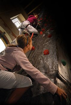 Remember when you scaled the wall like a commando? The UK's largest indoor climbing tower is just one of the interactive exhibits at Action Stations, Portsmouth Historic Dockyard.